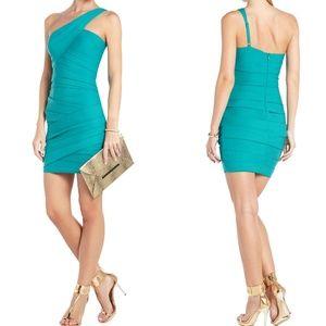 BCBGMAXAZRIA Versa One-Shoulder Cocktail Dress